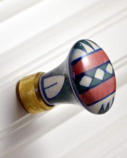 Charleston Knob Company Ceramic Southwestern Cabinet Knob