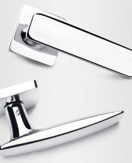 Colombo Design Door Lever Bold Handle-PT 11NA- Key lock/Deadbolt