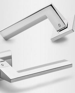 Colombo Design Door Lever Electra MS11NA-Key Lock / Dead Bolt