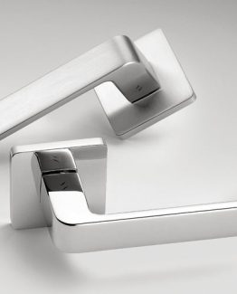 Colombo Design Door Lever Fedra AC11NA Key Lock/Deadbolt